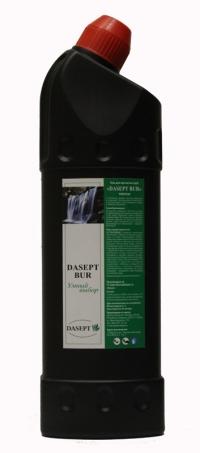 «DASEPT® BUR Рremium», гель для прочистки труб, 1 л