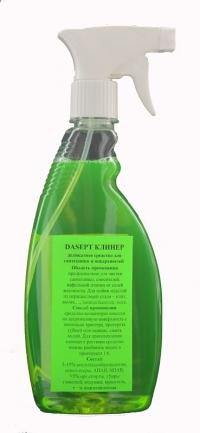"""""""DASEPT Клинер"""", деликатное средство для сантехники и поверхностей, 0,5 л с триггером"""